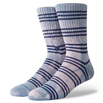 جوارب رجالي الأساس موقف ~ كورت الأزرق الصلب (حجم L)