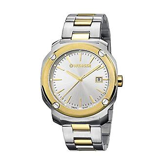 Wenger Quartz Analog Unisex Adult with stainless steel strap Edge Index No: 01.1141.115