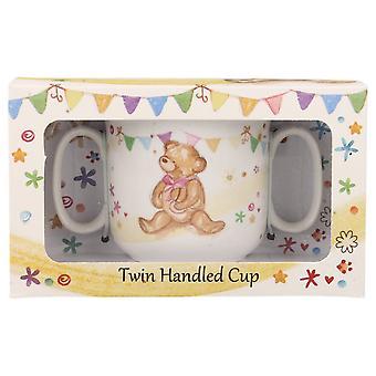 Lesser & Pavey Little Bear Hugs Twin Handled Cup LP33238