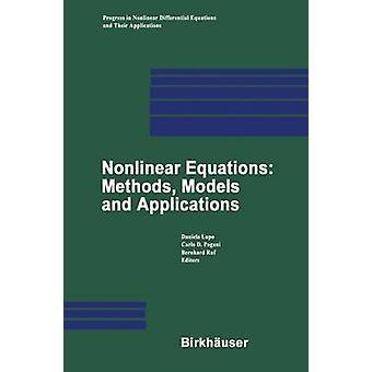 Epälineaariset yhtälöt menetelmät mallit ja sovellukset Lupo & Daniela