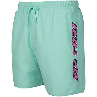 Rip Curl Volley Timeless 16'' Elasticated Boardshorts in Mint