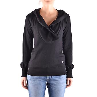 Frankie Morello Ezbc167005 Women's Black Wool Sweater