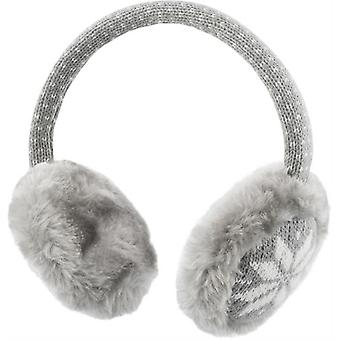 STREETZ Headset with ear, ear protectors, earphones grey/White