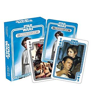 Star Wars Leia Skywalker jeu de 52 cartes (nm)