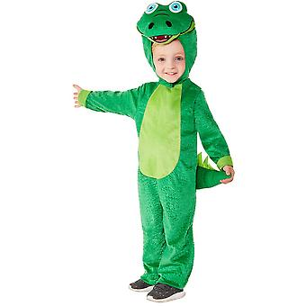 Kleinkinder Krokodil Overall  Tierkostüm Karneval Toddler Crocodile Costume