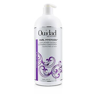 Ouidad Curl Immersion Low-lather Coconut Cleansing Conditioner (kinky Curls) - 1000ml/33.8oz