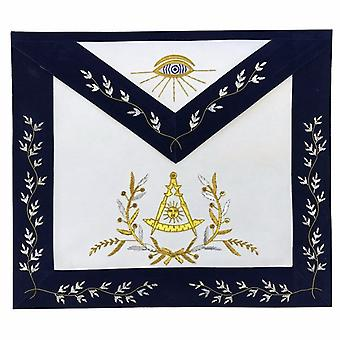 Masonic Grand Lodge Past Master Apron Gold Hand Embroidery Apron