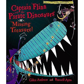 Kapten Flinn och pirat dinosaurierna - saknas Treasure! av Giles en