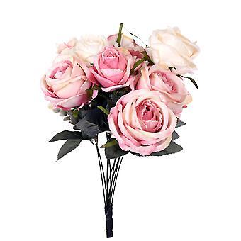Kunstige blomsterbukett roser