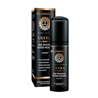 Bellamianta Ultra Dark Self Tanning Tinted Mousse