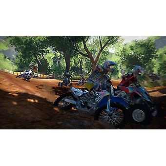 MX vs ATV Alive Xbox 360 game (Italiaanse Box EFIGS in het spel)