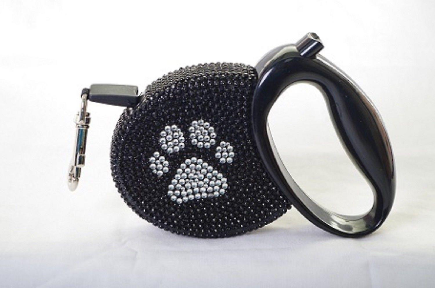 Cream Multi Lustre Spot Dog Lead