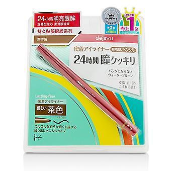 Dejavu trvalá jemná tužka Eyeliner-tmavě hnědá 0,15 g/0.005 oz
