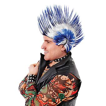 Bristol Novelty Mens Mohican Perruque