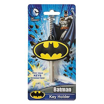 Schlüsselkappe - DC Comic - Batman Logo Soft PVC HolderToys New 45096