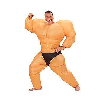 Costume gonflable de Bodybuilder
