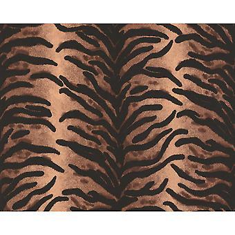 A.S. creatie als creatie dierlijke bont patroon Tiger Zebra vinyl getextureerde behang 663214