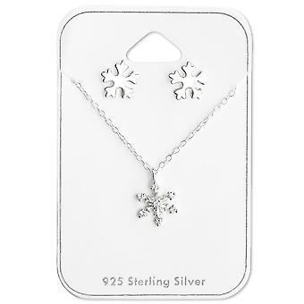 Fiocco di neve - 925 Sterling Silver moda - W28935X