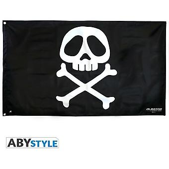 Abysse Captain Harlock Flag Emblem (Babies and Children , Toys , Others)