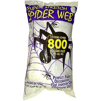 Weiße Spinnweben Web 8,4 Unzen und Tuch.