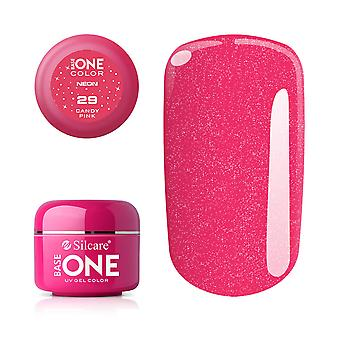 Base one-Neon-Candy pink 5g UV gel