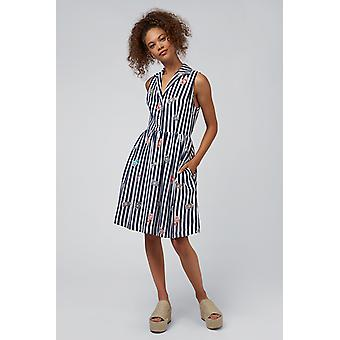 Louche Elisha Perfume Sleeveless Shirt Dress