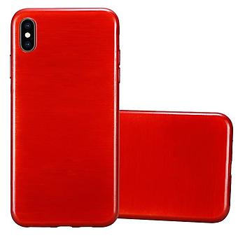 Cadorabo Case for Apple iPhone XS MAX Case Cover - Mobile Phone Case made of flexible TPU silicone - Silicone Case Protective Case Ultra Slim Soft Back Cover Case Bumper