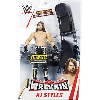 WWE Wrekkin' Figur sortiert - Ein geliefert