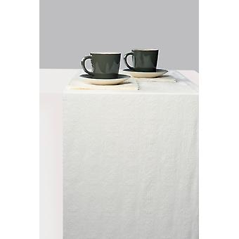 Ambiente Table Runner, Élégance Blanc