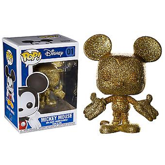 Mickey Mouse Mickey Gold Diamond Glitter Pop! Vinyl
