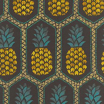 Barbara Becker abacaxi wallpaper Rasch