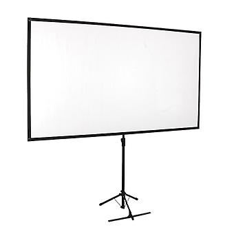 "Brateck Economy 80"" Tripod Projector Screen Black 16:9"