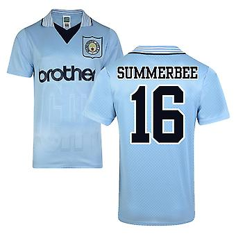 Score Draw Man City 1996 Home Shirt (Summerbee 16)