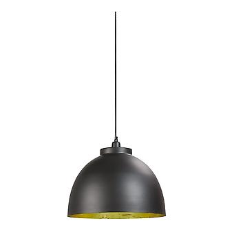 Light & Living Kylie Designer Black And Gold Hanging Pendant Lamp