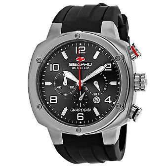Seapro Men's Guardian Reloj de marcación negra - SP3341
