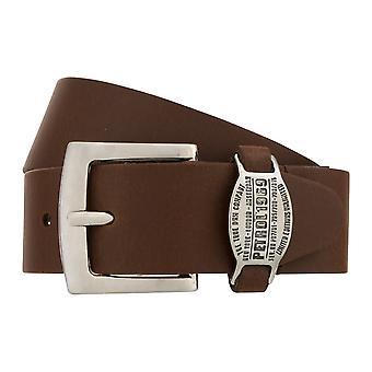 Teal Belt Men's Belt Leather Belt Jeans Belt Brown 8314
