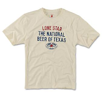 Lone Star National Beer of Texas T-paita