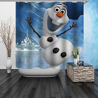 Jumping Olaf Shower Curtain