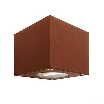 LED exterieur wand lamp Cubodo B bruin 90x90mm 3000K 5 W