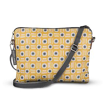 Nicky James Mustard Pot  Classic Cross with Removable Strap