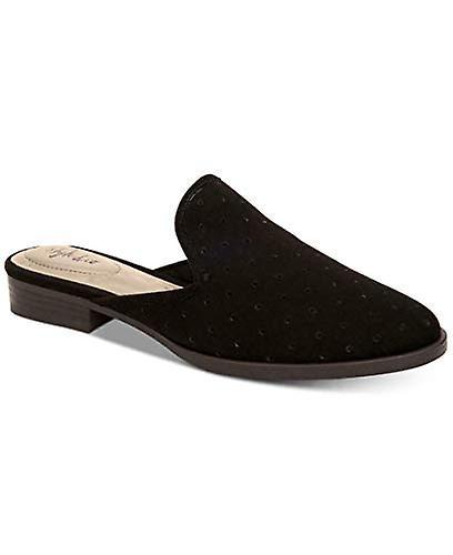 Style Et Cie Femmes Salina Fermé Toe Mules, Noir, Taille 6,5 M