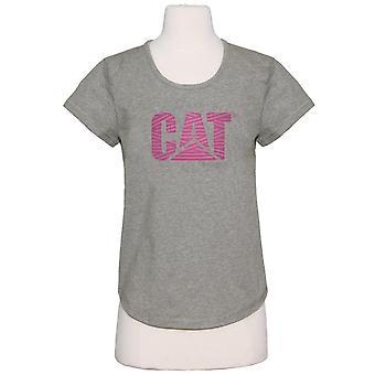 Caterpillar Womens/Ladies Logo T-Shirt