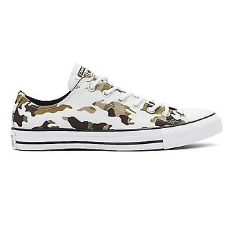 Converse All Star Camo Mens Vintage White Ox Trainers