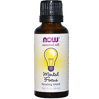 Essential Oils - Mental Focus (30 ml) - Now Foods