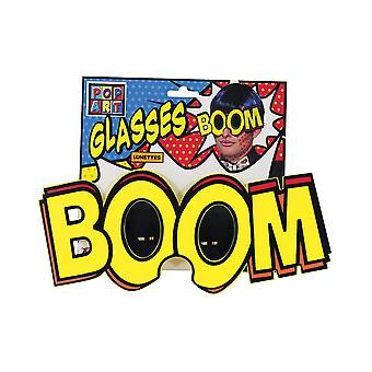Pop Art Jumbo 'Boom' Brille