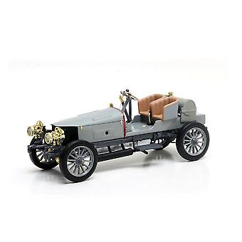 Spyker 60HP Four Wheel Drive Racer (1903) Resin Model Car