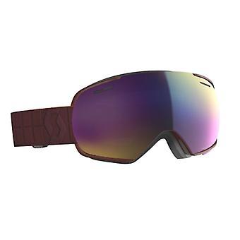 Scott Masque de ski Linx Merlot Red Teal Chrome