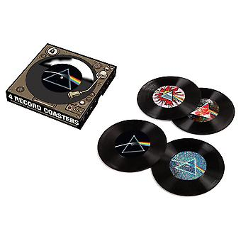 Pink floyd - 45 record coasters