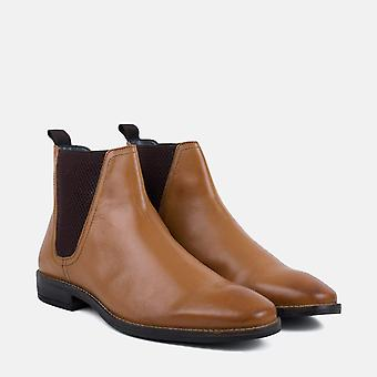 Rawlings tan leather chelsea boot