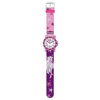 Scout Kids Watch Learning Clock IT Collection - Glitter Unicorn Girl 280375021